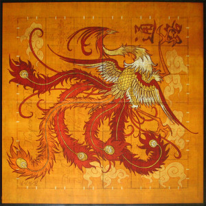 Tsuro Game Board