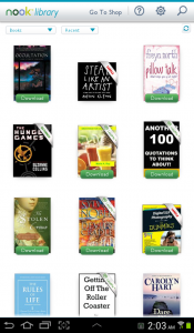 Barnes and Noble Nook App